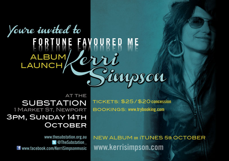 Kerri Simpson CD Launch